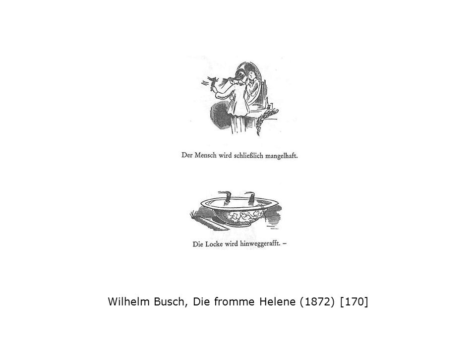 Wilhelm Busch, Die fromme Helene (1872) [170]